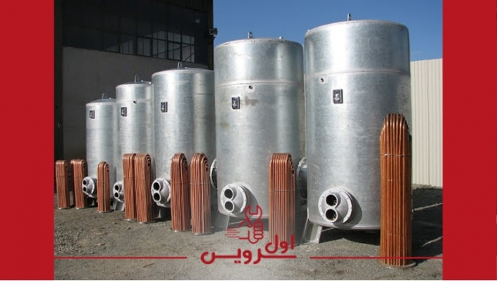 منبع ذخیره , منبع انبساط , منبع کویل دار , منبع دوجداره , انواع منابع آبگرم تاسیساتی